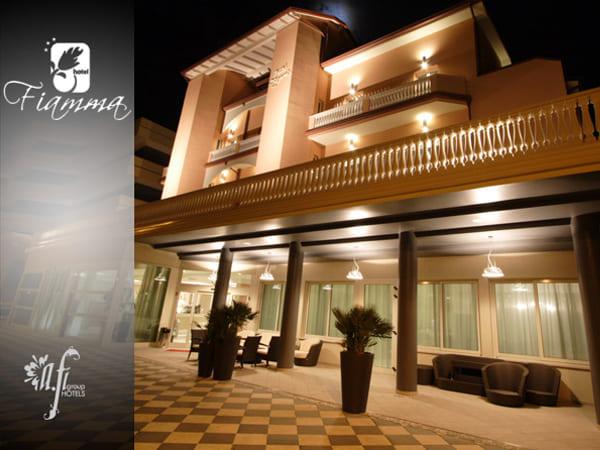 hotel Fiamma Villamarina di Cesenatico